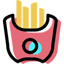food, Bread, Bakery, Roll, baked, bun LightCoral icon