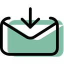 Email, Multimedia, mail, Message, envelope, envelopes, interface DarkSeaGreen icon