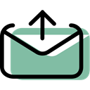 envelope, Multimedia, Email, interface, envelopes, mail, Message DarkSeaGreen icon
