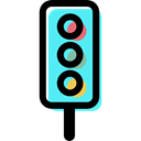 Semaphore, Regulation, Guidance, Traffic light, technology Black icon