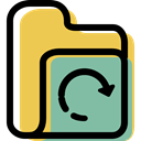 Office Material, interface, Data Storage, Business, Folder, storage, file storage SandyBrown icon