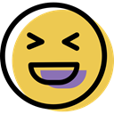 smiling, people, feelings, Emotion, happy, Emoticon, interface, Face, smiley SandyBrown icon