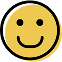 Emoticon, Emotion, interface, smiling, people, feelings, Face, smiley, happy SandyBrown icon