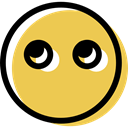 interface, smiling, Emoticon, feelings, smiley, Emotion, Face, people, muted SandyBrown icon