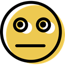 feelings, Face, interface, surprised, Emotion, Emoticon, people, smiling, smiley SandyBrown icon