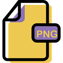 Png, Format, document, File, Multimedia, Archive SandyBrown icon