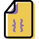 document, Multimedia, Archive, Format, Coding, File SandyBrown icon