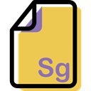 Format, Archive, Sg, File, document, Multimedia SandyBrown icon
