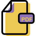 Format, Multimedia, document, File, Pdf, Archive SandyBrown icon
