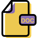 Multimedia, Doc, Format, File, Archive, document SandyBrown icon