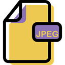 File, Format, document, Archive, Multimedia, Jpeg SandyBrown icon