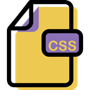 File, Multimedia, Archive, Css, Format, document SandyBrown icon