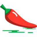 vegetable, vegetarian, Healthy Food, Hot Pepper, vegan, organic, food, diet Black icon
