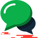 chatting, Conversation, interface, Message, Chat, speech bubble, Multimedia, Speech Balloon SeaGreen icon