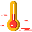 Mercury, Celsius, temperature, Fahrenheit, Tools And Utensils, Degrees, thermometer Black icon