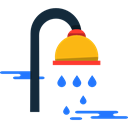 Shower, Shower Head, hygiene, medical, relax, bathroom Black icon