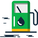 gas station, gasoline, Energy, petrol, fuel Black icon