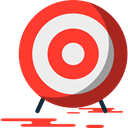 Target, sniper, weapons, shooting, Aim Tomato icon