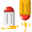 Condiment, Salt And Pepper, food, Spicy Black icon