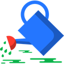 water, watering, garden, Tools And Utensils, gardening, watering can, Sprinkle DodgerBlue icon