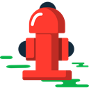 hydrant, Firefighting, Extinguish, firefighter Tomato icon