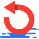 Circular Arrow, loading, Reload, Multimedia Option, Orientation, Direction, Arrows Tomato icon
