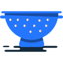 kitchenware, Strainers, Strainer, Tools And Utensils, Holes DodgerBlue icon