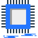 electronic, Technological, computing, technology, microchip DodgerBlue icon