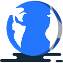 worldwide, Geography, Maps And Flags, Planet Earth, global DodgerBlue icon