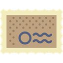 Stamp, Multimedia Option, mail, interface, Graphic Tool RosyBrown icon