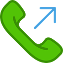 phone, Telephone Call, sending, telephone, interface, phone call LimeGreen icon