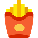 french fries, Potatoes, food, Fast food, fries, Restaurant, junk food Tomato icon