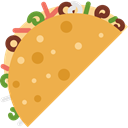 Typical, Foods, Mexico Icons, food, Mexico, tacos, Mexican, Taco SandyBrown icon