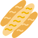 Cereal, Healthy Food, food, loaf, Bread, Breads, healthy SandyBrown icon