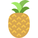 natural, organic, food, Foods, Fruit, pineapples, pineapple, Healthy Food, fruits SandyBrown icon