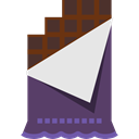 Chocolate, Bar, snack, sweet, food, Dessert Icon