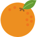 Orange, organic, diet, Healthy Food, vegetarian, food, vegan, Fruit Goldenrod icon