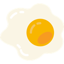 fried egg, food, sugar, sweet, Gummy, fried, Candy, egg OldLace icon