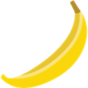 food, diet, vegan, Banana, Fruit, vegetarian, Healthy Food, organic Black icon
