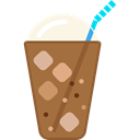 Cold, glass, frappe, food, Coffee Shop Sienna icon
