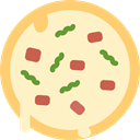 Restaurant, junk food, Pizzas, Fast food, Italian Food, food, Pizza, Restaurants Icon