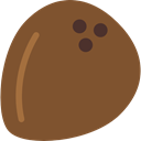 natural, Coconut, Fruit, Coconuts, drink, food Sienna icon