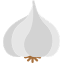 vegetable, Garlic, Fruit, vegetarian, food, Clove Garlic LightGray icon