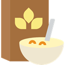 nutrition, Cereal, Cereals, breakfast, food, Healthy Food, meal, package Sienna icon