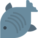 Supermarket, Animal, fish, fishes, Foods, food, meat, Meats Icon