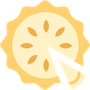 food, Dessert, sweet, Bakery, pie BlanchedAlmond icon