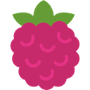 vegetable, Fruit, Blackberry, food, raspberry MediumVioletRed icon