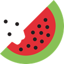 vegetarian, food, vegan, Fruit, Healthy Food, diet, organic, watermelon Crimson icon