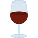 wine, food, Wine Glass, drinking, glass, cup, drink Black icon