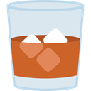 Alcohol, Ice, drink, food, whiskey, glass Lavender icon